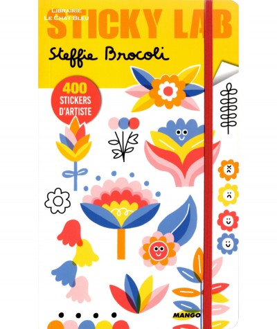 Sticky Lab : Steffie Brocoli - 400 stickers d'artiste - MANGO Jeunesse