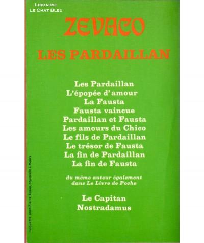 Le pont des soupirs (Michel Zévaco) - Le Livre de Poche N° 3321