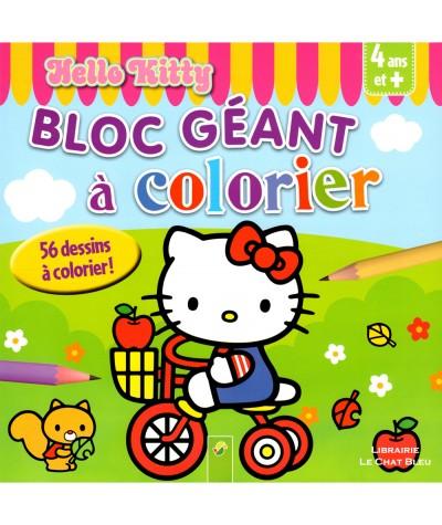 Hello Kitty : Bloc géant de 56 dessins à colorier ! - Livre d'activités Schwager & Steinlein