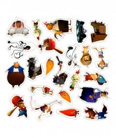 Chicken Little : Des aventures palpitantes (Walt Disney) - Aimants magiques - Hachette Jeunesse