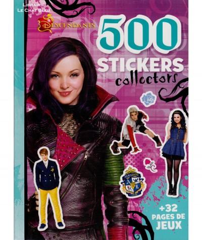 Descendants (Walt Disney) : 500 stickers collectors + 32 pages de jeu - Hachette jeunesse