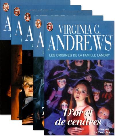 La famille Landry (Virginia C. Andrews) - 5 tomes - Editions J'ai lu