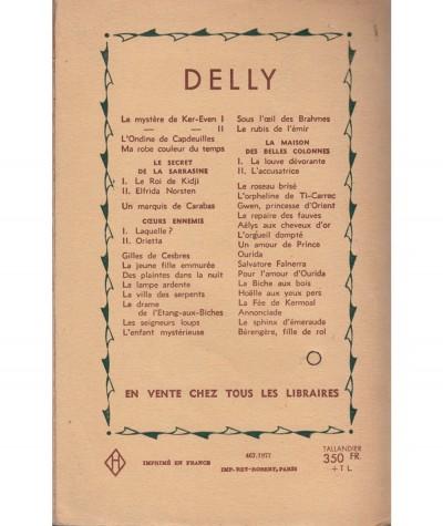 Lysis suivi de L'étoile du Roi Boris (Delly) - Editions Tallandier