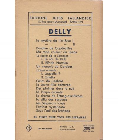 La maison des Belles Colonnes T1 : La louve dévorante (Delly) - Editions Tallandier