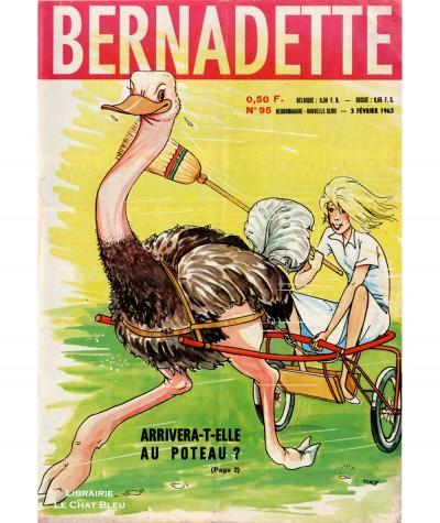 Revue Bernadette n° 95 du 3 février 1963 : Arrivera-t-elle au poteau ?