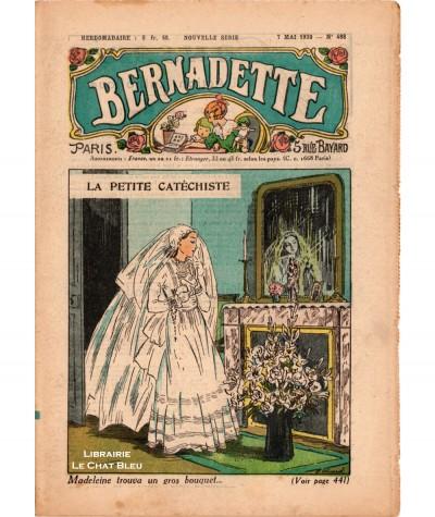 Revue Bernadette N° 488 du 7 mai 1939 : La petite catéchiste