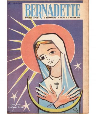 Revue Bernadette N° 128 du 7 décembre 1958