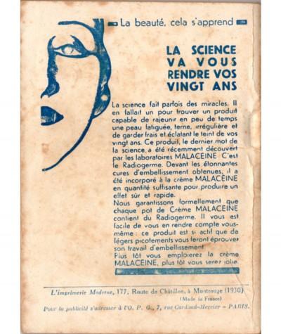 La fille des vagues (Max-André Dazergues) - Le Petit Livre Ferenczi N° 936