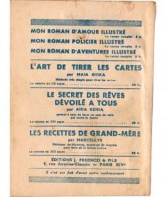 Tragique confidence (Claude Notac) - Le Petit Livre Ferenczi N° 1475