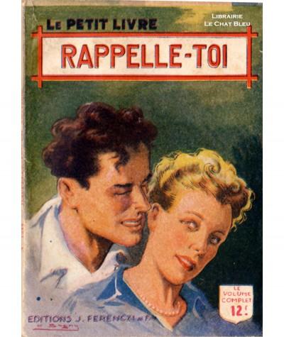 Rappelle-toi (Alexyanne) - Le Petit Livre Ferenczi N° 1544