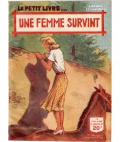 Une femme survint (Anne Claire) - Le Petit Livre Ferenczi N° 1647