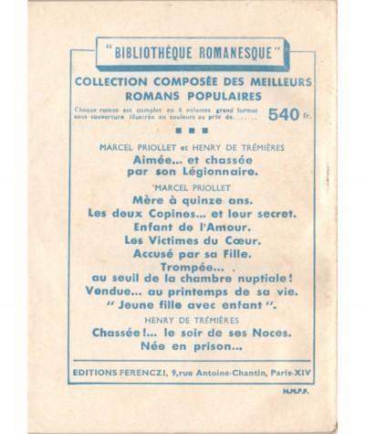 Je vous aime ! (Anne Claire) - Le Petit Livre Ferenczi N° 1656
