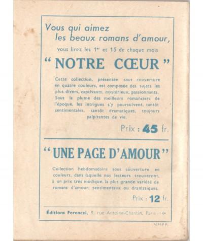 Coeur de pierre (Philippe Jean) - Le Petit Livre Ferenczi N° 1659