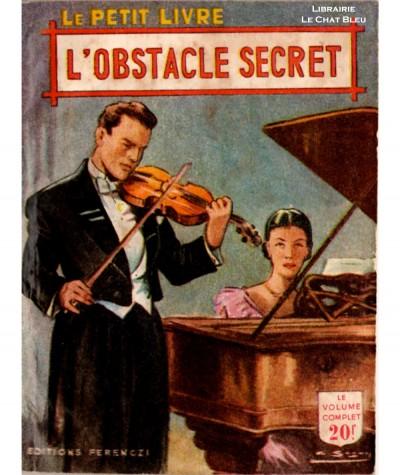 L'obstacle secret (Janine Mariel) - Le Petit Livre Ferenczi N° 1697