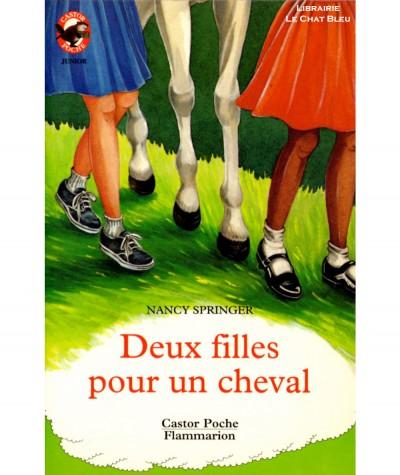 Deux filles pour un cheval (Nancy Springer) - Castor Poche N° 435 - Flammarion