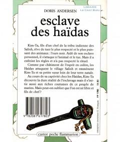 Esclave des Haïdas (Doris Andersen) - Castor Poche N° 72 - Flammarion
