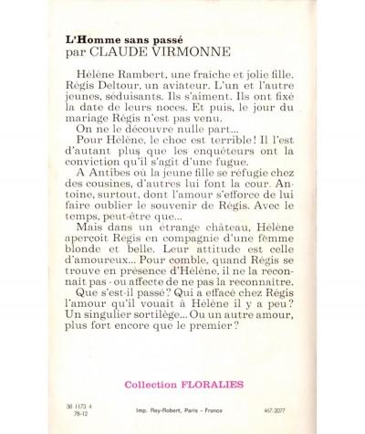 L'homme sans passé (Claude Virmonne) - Floralies N° 481 - Tallandier