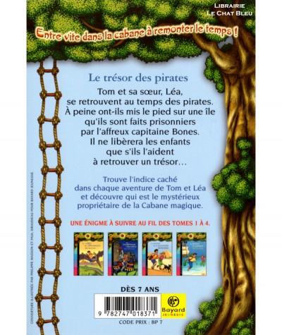 La Cabane Magique T5 : Le trésor des pirates (Mary Pope Osborne) - Bayard Jeunesse