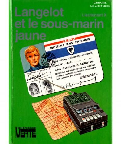 Langelot et le sous-marin jaune (Lieutenant X) - Bibliothèque verte - Hachette