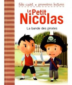 Le Petit Nicolas T12 : La bande des pirates (Emmanuelle Lepetit) - Folio Cadet N° 77 - Gallimard