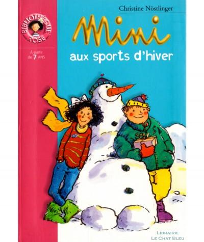 Mimi aux sports d'hiver (Christine Nöstlinger) - Bibliothèque rose N° 517 - Hachette