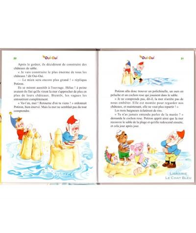 Oui-Oui à la plage (Enid Blyton) - Pages 20 et 21 - Hachette Jeunesse