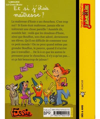 Essie : Et si j'étais maîtresse ? (Claire Clément) - J'aime Lire N° 44 - BAYARD Jeunesse