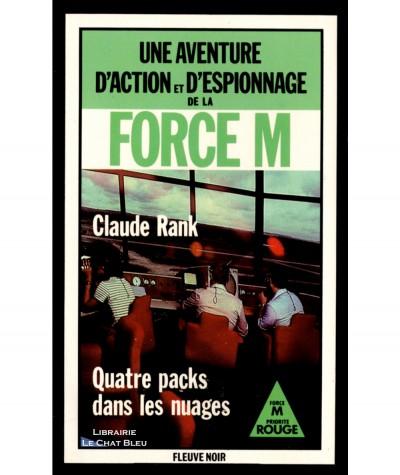 Quatre packs dans les nuages (Claude Rank) - Fleuve Noir N° 1628
