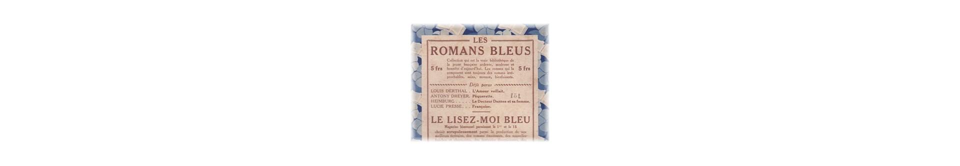 Les Romans Bleus | Éditions Jules Tallandier | Livres d'occasion