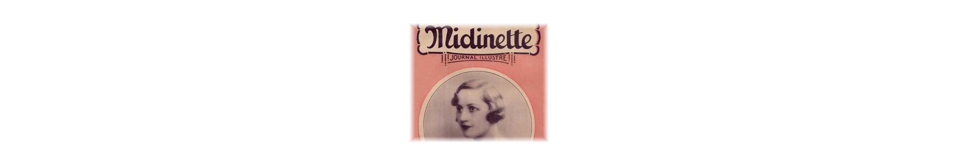 Midinette - Journal Illustré | Vente de livres d'occasion